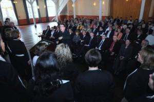 100 Jahre Haus und Grund; Festakt im Spiegelsaal auf der Wilhelmshöhe; Chor Amante della Musica